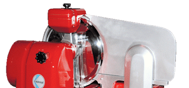 What are the features of professional meat slicers?